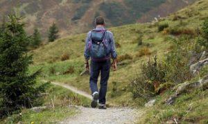 Solo hiker